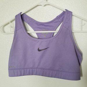 Nike Pro Dri-Fit Purple Sports Bra Size Medium